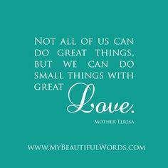 moeder theresa spreuken 53 Best Quotes images | Beautiful Words, Encouragement, Most  moeder theresa spreuken