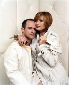 CHRISTOPHER MELONI & MARISKA HARGITAY. ONE OF THE BEST ON-SCREEN DUOS EVER.