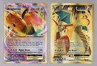 Lot Dragonite EX Full Art 106 & EX 72 XY Evolutions In Hand Both Cards.