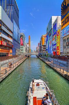 The incredible Dotonbori Canal #Osaka #Japan