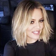 nice Sexy Hairstyle from Khloe Kardashian