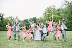 Best wedding party ever