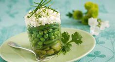 Verrine de légumes de printempsVoir la recette de la Verrine de légumes de printemps >>