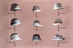 Retail : Vendre des chapeaux comme des parapluies par NENDO