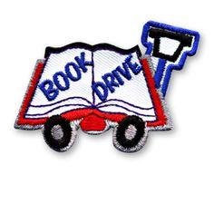 Book Drive Fun Patch