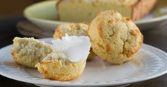 A low-carb biscuit recipe made with coconut flour. The only grain-free biscuit recipe on the interwebs that's also nut-free and dairy-free. Perfect for Thanksgiving! This paleo-friendly recipe makes g Low Carb Biscuit, Biscuit Bread, Biscuit Recipe, Grain Free, Dairy Free, Paleo Dairy, Nut Free, Coconut Flour Biscuits, Almond Flour
