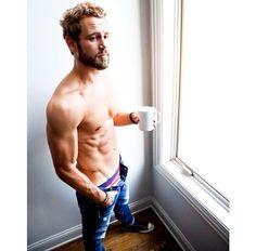 Nick Viall Has No Shame, Shares Shirtless Morning Coffee Snap
