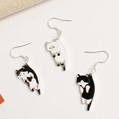 3fe8df4ecb25 Hover cat Earring  cat  cutecat  catlover  kitties  kitty  kitten