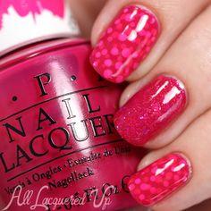 OPI Color Paints Nail Art via @alllacqueredup