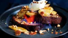 Brunch Recipes, Sweet Recipes, New Recipes, Breakfast Recipes, Breakfast Ideas, Savoury Recipes, Just Desserts, Delicious Desserts, Yummy Food