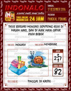 Tafsir Lotre 4D Togel Wap Online Live Draw 4D Indonalo Pangkal Pinang 17 Desember 2016