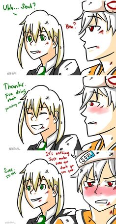 Thanks (Soul x Maka) by ButterflyMeister