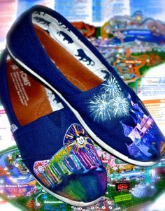 Custom Disney toms : California adventures : world of colors : fireworks