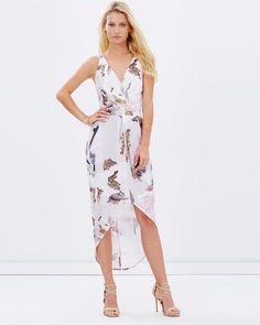 EXCLUSIVE - Ever Lasting Love Drape Dress