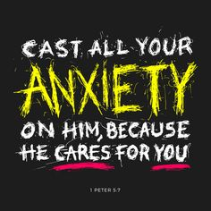 """Casting all your care upon him; for he careth for you."" 1 Peter 5:7 KJV http://bible.com/1/1pe.5.7.kjv"