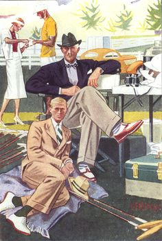 The Shoe AristoCat: Summer outfits as seen by Laurence Fellows-1930's