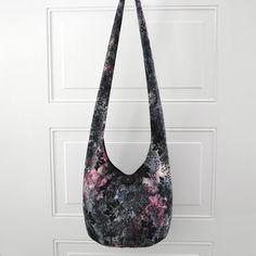 Hobo Bag Crossbody Bag Sling Bag Hippie Purse Hobo by 2LeftHandz