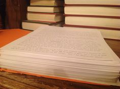 So this is what a quarter of a thousand pages looks like?  I like how it compares to the Stephen King novel on the right and the Judicial encyclopedia on the left
