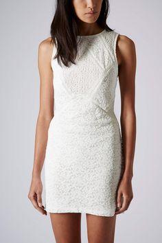 Lace Panels Bodycon Dress - Bodycon Dresses - Dresses - Clothing- Topshop