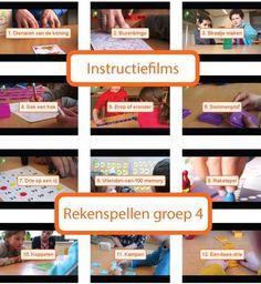 groep 4 Rekenspellen - Lesmateriaal bestellen voor groep: - Menne Instituut - Met Sprongen Vooruit Primary School, Pre School, Arithmetic, Fun Math, Kids Education, Preschool Activities, Mathematics, Homeschool, Training