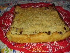 Cozinha com Paixão: Tarte Crumble de Frango e Cogumelos