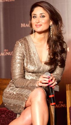 Kareena Kapoor Khan at the endorsement event of Magnum ice-cream. #Style #Bollywood #Fashion #Beauty
