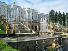 Extension of Peterhof Grand Palace (1720), St. Petersburg, Russia pictures on theredlist.com