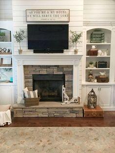 Marvelous Farmhouse Style Living Room Design Ideas 20