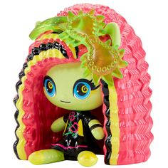 All about Monster High: Minis Monster High Toys, Monster Go, Mini Monster, Monster High Repaint, Cool Monsters, Famous Monsters, Bloom Winx Club, Mattel, Barbie Toys