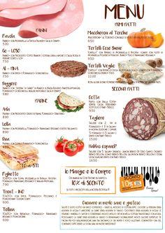 Da oggi nuovo menu!
