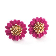 Marigold Blush Earrings (Pink), SGD12.90. Add a pop of colour to your ears with these exquisitely crafted marigold earrings. Bring a rush of colour to that special boy's face.Do check out our shop trystjewels.com for more designs.