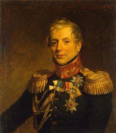 Comte Piotr Petrovitch Konovnitsyne (Пётр Петрович Коновницын), né en 1764, décédé en 1822, homme politique russe, ministre de la Guerre du 12 décembre 1815 au 6 mai 1819. Son fils aîné, le lieutenant et comte Piotr Petrovitch Konovnitsyne (1803-1830), fut un décembriste et un membre de la Société du Nord, condamné de 9ème catégorie, il fut dégradé et exilé dans une garnison éloignée de la capitale puis dans la Caucase.