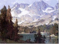 Mountain Lake - Edgar Payne