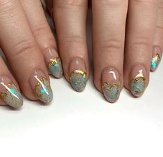 Yellow Nails, Green Nails, Nail Art Designs Videos, Nail Designs, Lemon Nails, Green Nail Art, Butterfly Nail Art, Nail Effects, Professional Nail Art