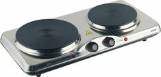 Electric Cooktop, Plate Design, Heating Element, Ceramic Plates, Twins, Stainless Steel, Ebay, Caravan, Cast Iron