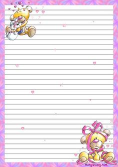 lined stationery Printable Lined Paper, Free Printable Stationery, Journal Paper, Journal Cards, Lined Writing Paper, Writing Papers, Specialty Paper, Stationery Paper, Note Paper