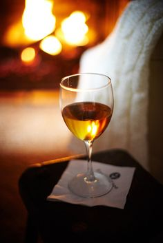 A cozy fire and a glass of wine, a lovely way to relax and unwind. Spirit Drink, Wine Vineyards, Warm And Cozy, Cozy Winter, Winter Cabin, Vides, Wine O Clock, In Vino Veritas, Wine Cheese