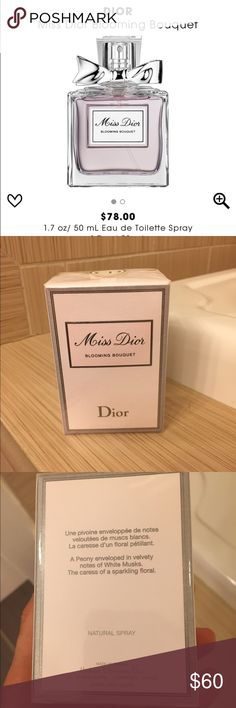 BRAND NEW Dior Miss Dior Blooming Bouquet 1.7 oz. BRAND NEW Dior Miss Dior Blooming Bouquet 1.7 oz.  Still in the package. Serious offers only. This is 100% AUTHENTIC. Dior Other