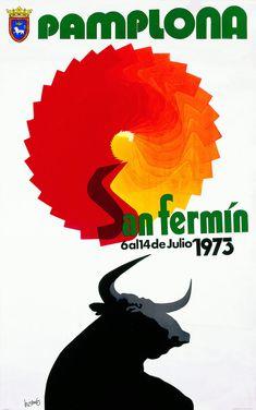 San Fermín 1973 Mariano Sinues ~Repinned Via Blanca Garrido