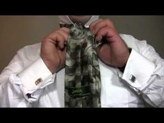 ▶ How To Tie a Tie: The Hanover - YouTube