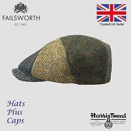 cdf2dc8b63b8e Hats Plus Caps · Failsworth 8 Panel Mixed Harris Tweed Newsboy Cap Peaky  Blinders Patchwork Hat Peaky Blinders