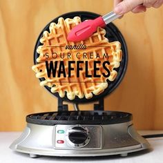 New post for your weekend, amigos! My new favourite waffles!