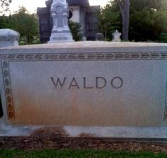 Sorry it took me so long to find you, Waldo!