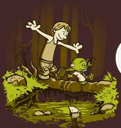 Calvin and Hobbes & Star Wars