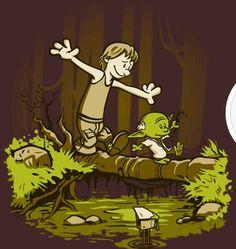 Calvin and Hobbes & Star Wars