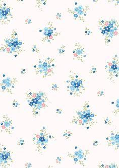 Vintage floral print x