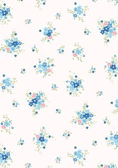 wallpaper .. Vintage floral print. ..♥.Nims.♥