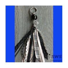 Sieraden, SZ001 Zwart burberry sleutelhanger