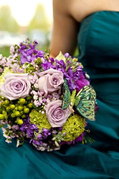 bouquet is gorgeous with all the different hues and tones