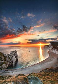 Great landscape #photography: Durdle Sunset